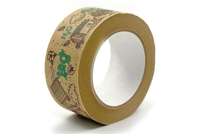 Nyomtatott papír ragasztószalag